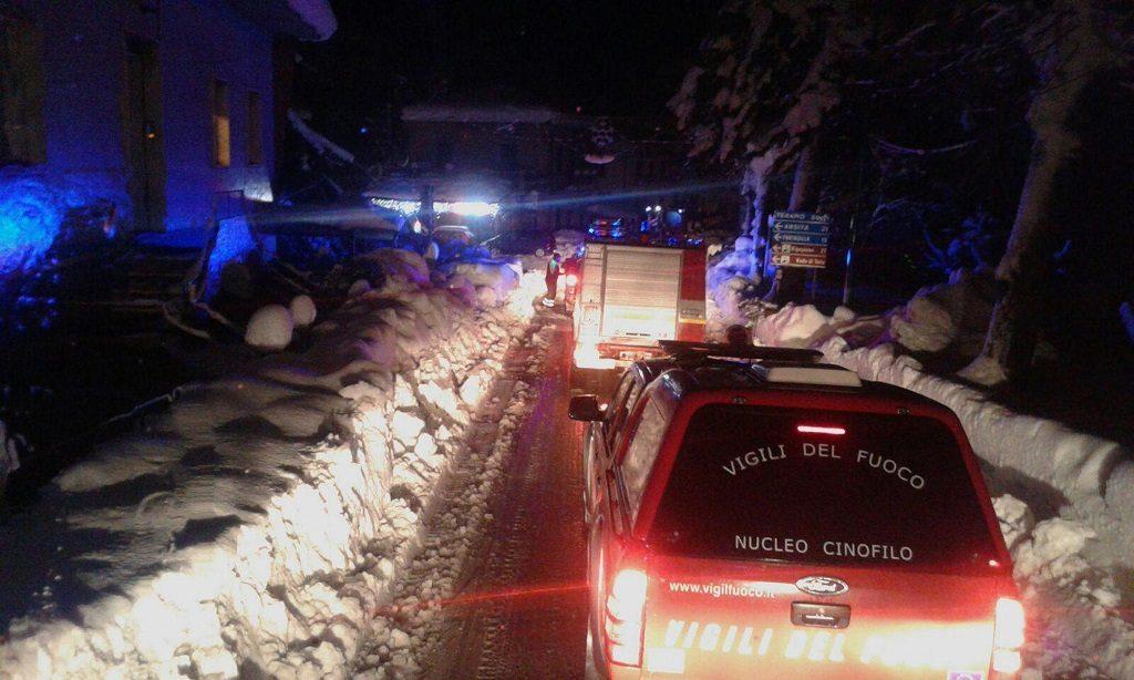 Italy Quake Avalanche