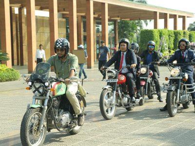 The Distinguished Gentlemen Ride at Novotel