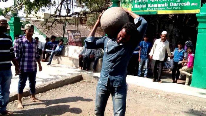 levitating stone
