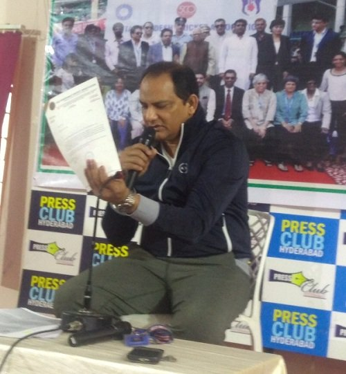 Azharuddin to move court against Hyderabad Cricket Association officials