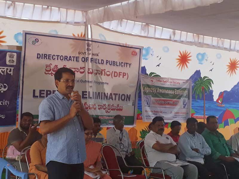 Awareness walk on leprosy held in Nalgonda