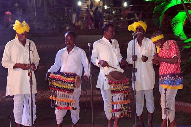 Celebrating tribes of India at Shilparamam