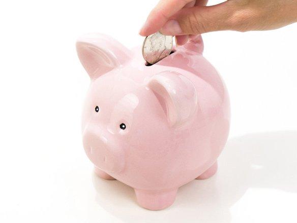Virtual piggy banks