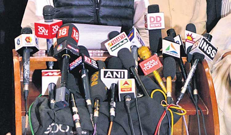 Propaganda overshadows journalism