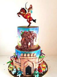 It is no CakeWalk for Radha Dhaka, Hyderabad's top cake artist