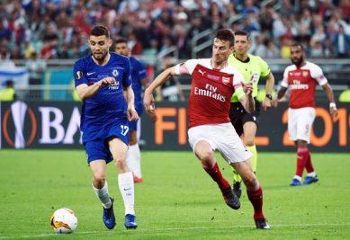 Farewell gift; Hazard scores twice as Chelsea win Europa League final
