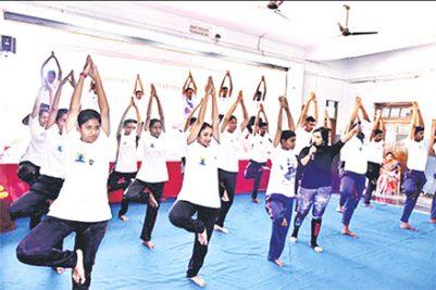 Celebrating yoga