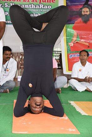 International Yoga Day celebrated across Telangana