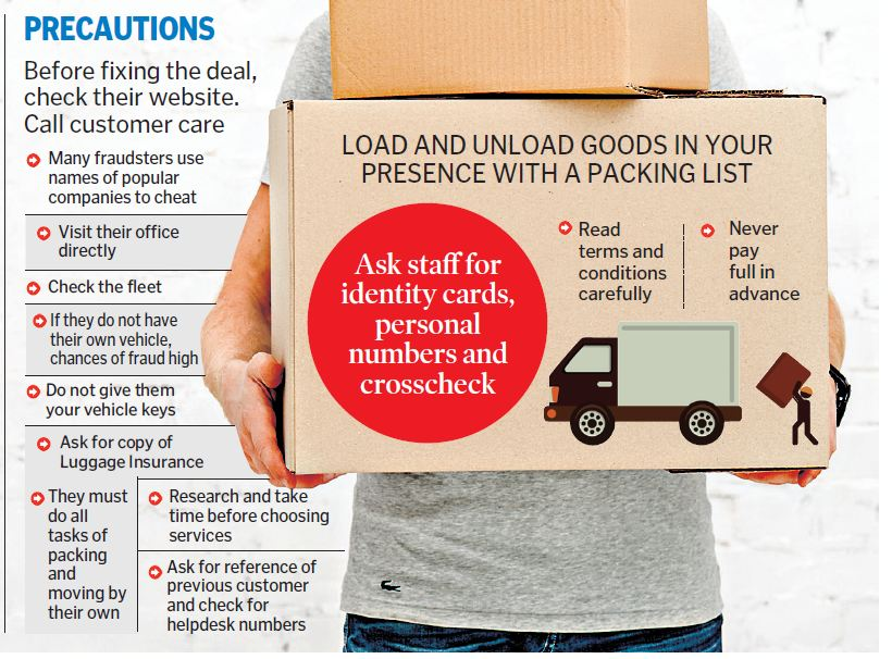 Packers and movers new avenue for cheats