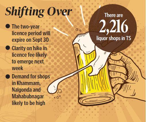 AP liquor traders eye business in Telangana