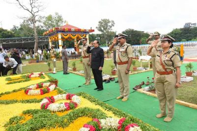 Police Commemoration Day observed in Hyderabad