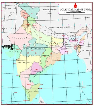 PoK areas feature in new Indian maps released by govt