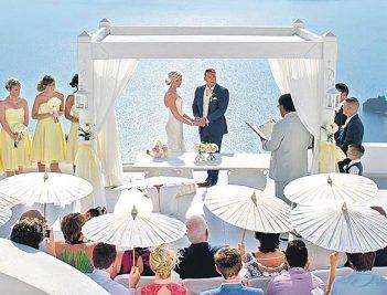 Top seven wedding destinations for 2020