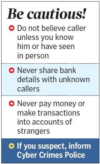 Fraudsters 'Just Dial' to loot Hyderabad-based firms