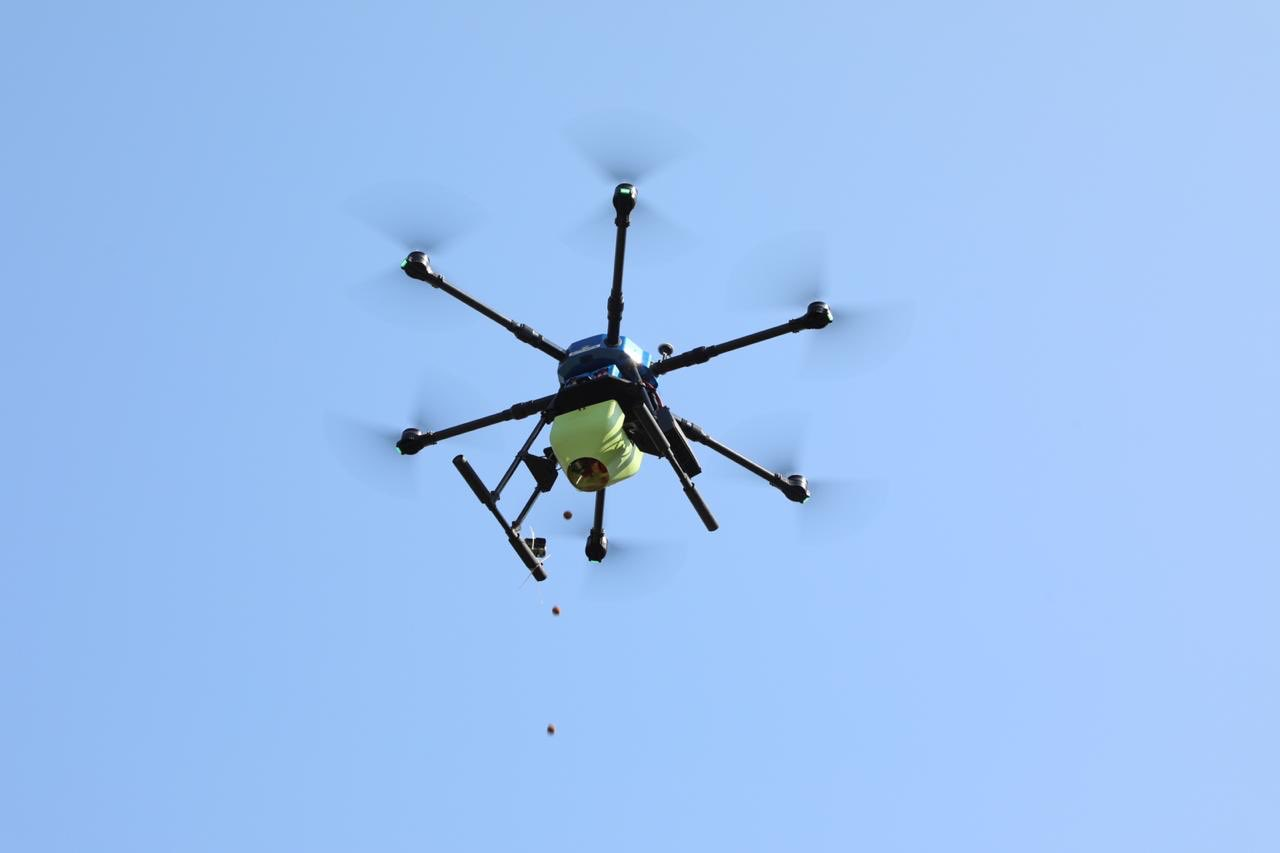 Telangana to use Drone and AI driven Forest Restoration
