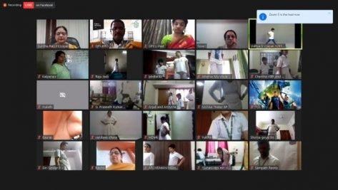 Hyderabad: International Yoga Day celebrated with zeal at Delhi Public Schools