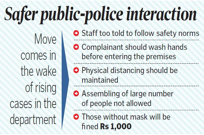 Stricter safety norms at police stations in Telangana