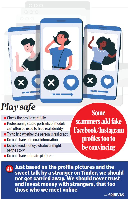 Swiping right turns trouble for Hyderabadis