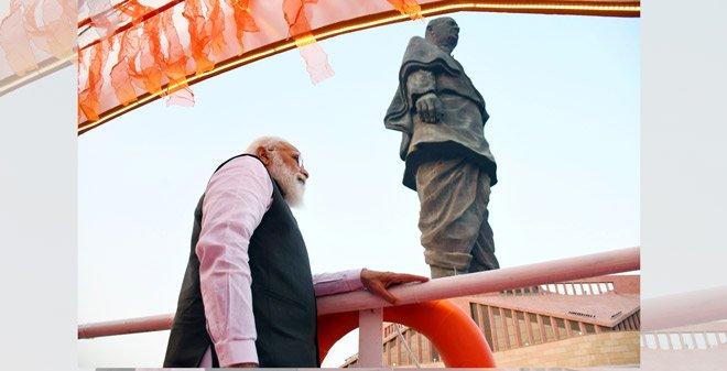 PM Modi pays tribute to Sardar Vallabhbhai Patel on his birth anniversary