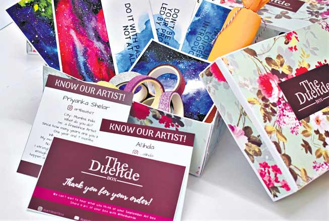The Deunde Box lets you bring out the artist within