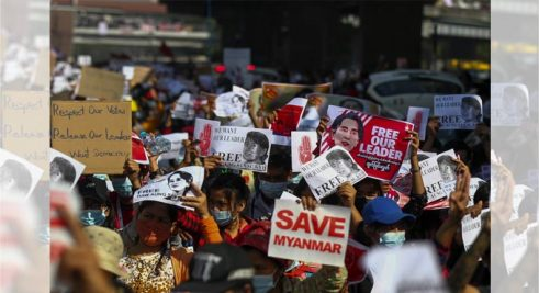 Myanmar-protest_placards