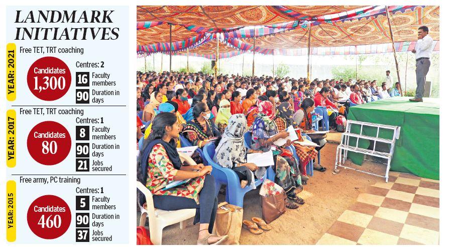 Telangana: Sirpur (T) MLA brings quality coaching close to govt job aspirants