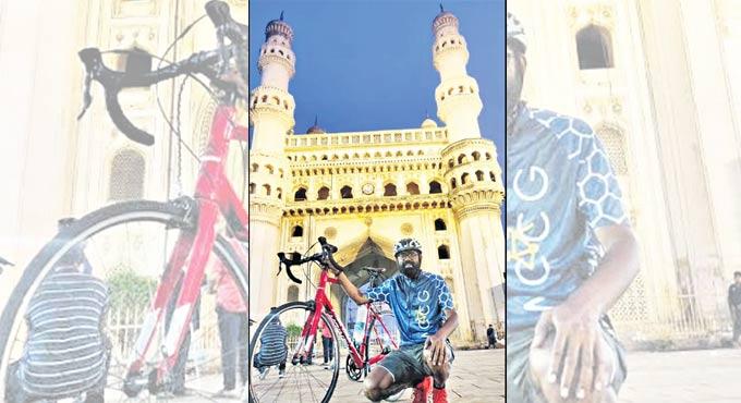 Bicycle Mayor of Hyderabad