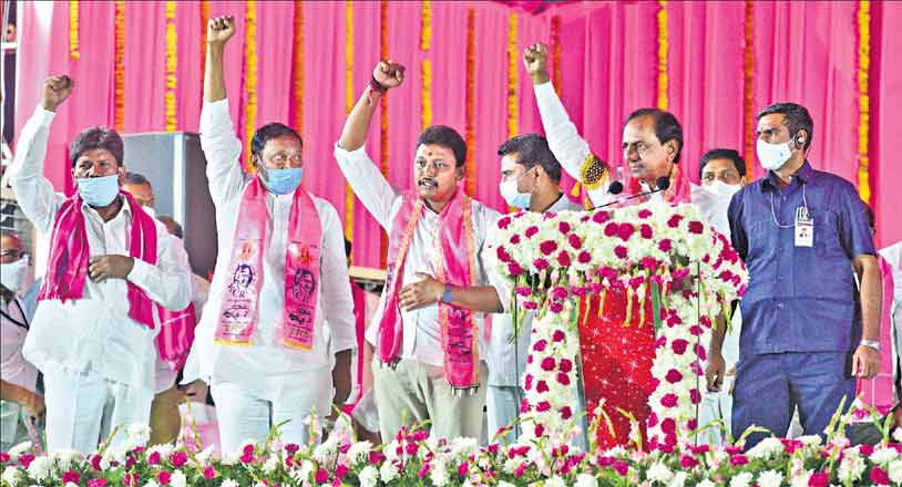 TRS govt put an end to the fluorosis crisis