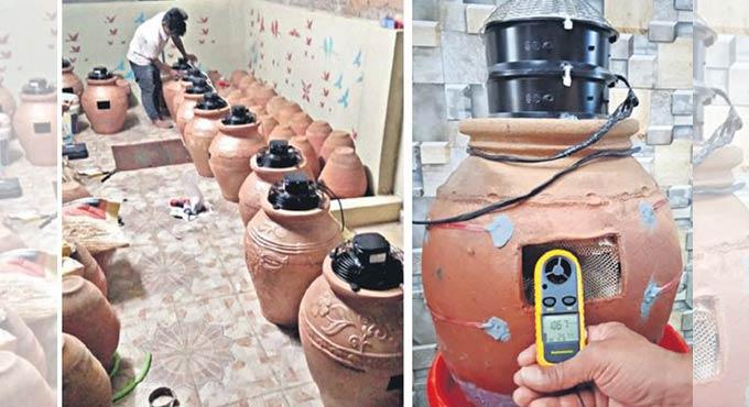 eco-friendly pot coolers