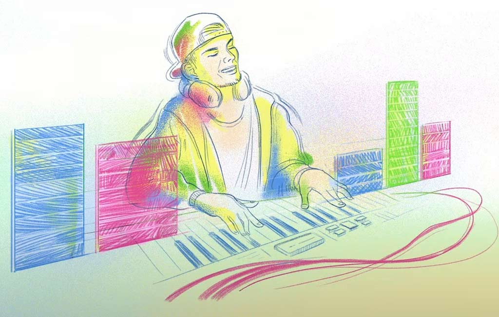 Google Doodle celebrates Swedish DJ Avicii's 32nd birth anniversary - Telangana Today